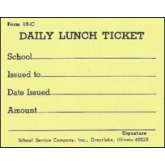 18C - Daily Lunch Ticket