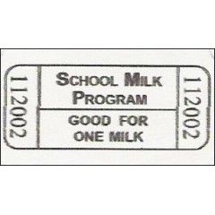 18R - Milk Roll Tickets