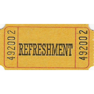 203 - Refreshment Roll Tickets - Roll Tickets