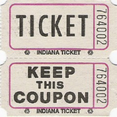 204 - Coupon Roll Tickets