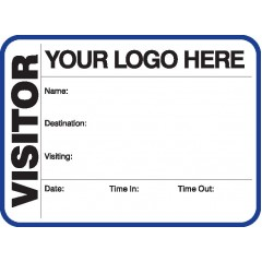 791A - Large Visitor Label Badges Book