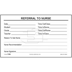 112A - Referral to Nurse
