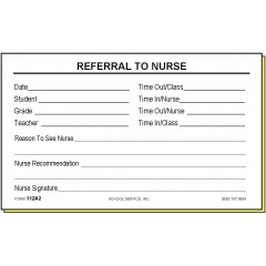 112A2 - Two-Part Referral to Nurse