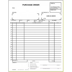 33E2-Two-Part Purchase Order
