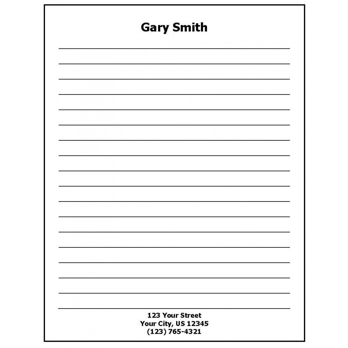 Custom Personalized Notepads
