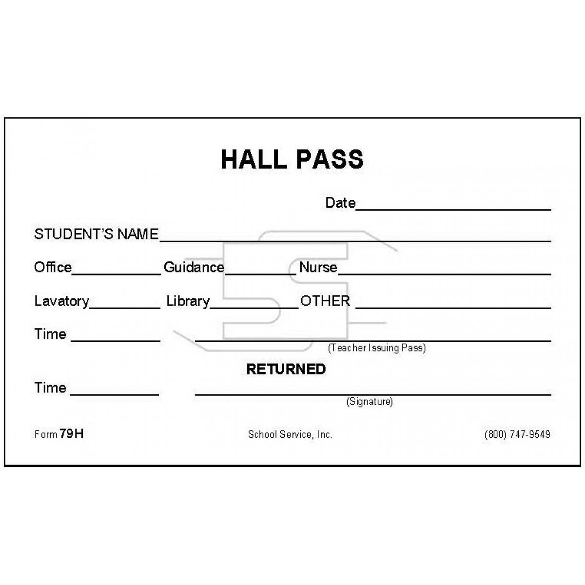 Hall pass school yelomdiffusion 79h hall pass padded forms maxwellsz