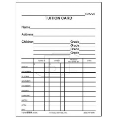 816A - Tuition Card