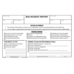 98F - Digital - Bus Incident Report