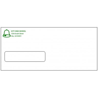 E10W - Custom-Printed Window Envelopes - Envelopes
