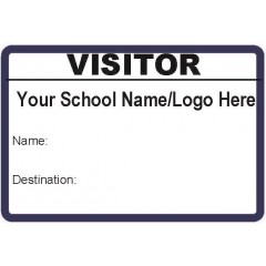 L101 - Stock Visitor Label Badges Book