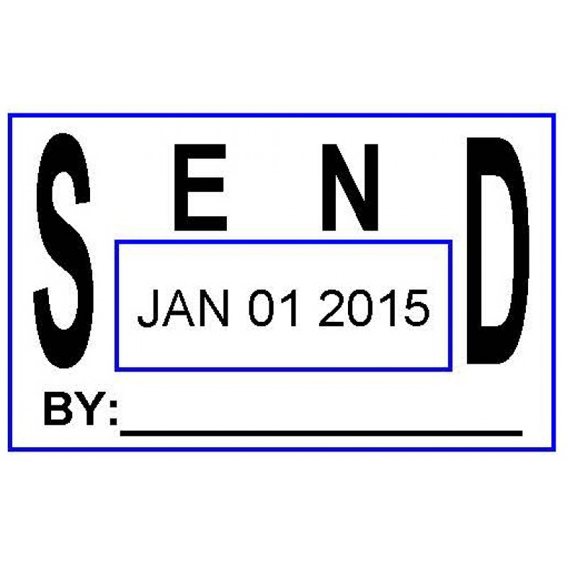 ASD107 - Send Date Stamp - School Office & Business Office Stamps