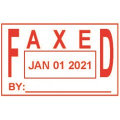 ASD105 - Faxed Date Stamp