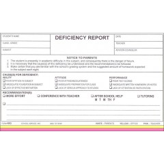 45G - Deficiency Report