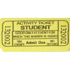 66A - Student Activity Roll Tickets