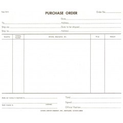 33A - Purchase Order