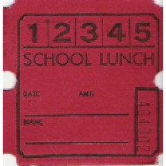 18T - 5 Punch Lunch Roll Tickets