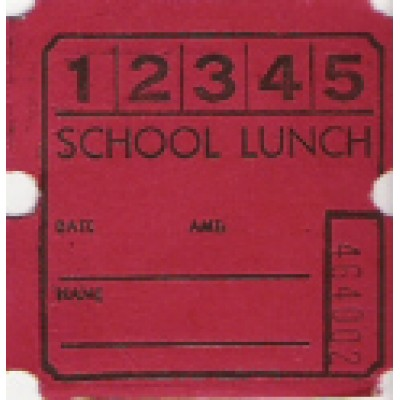 18T - 5 Punch Lunch Roll Tickets - Roll Tickets