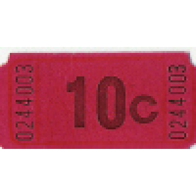 251T - 10 Cents Roll Tickets - Meal & Activity