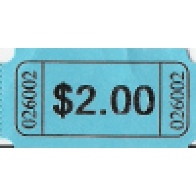 256T - $2.00 Roll Tickets - Meal & Activity