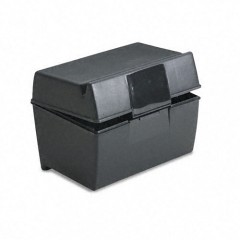 600 - 3 x 5 Plastic Index Card Box