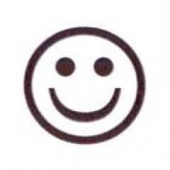AS8 - Small Smiley Face Stamp