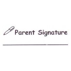 AS45 - Large Parent Signature Stamp