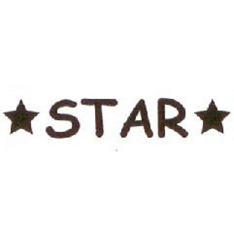 AS29 - Large Star Stamp - Teacher Stamps