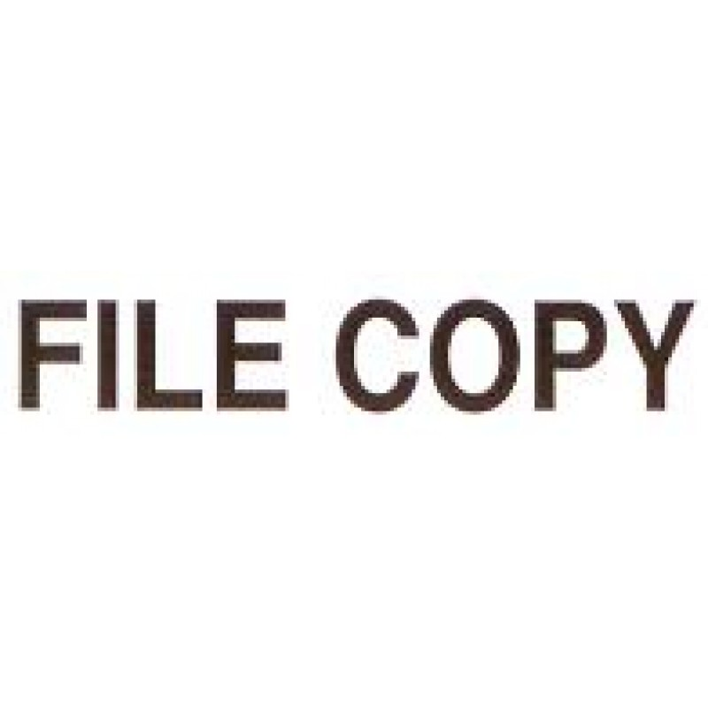 AS67 - Large File Copy Stamp - School Office & Business Office Stamps