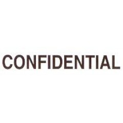 AS71 - Large Confidential Stamp
