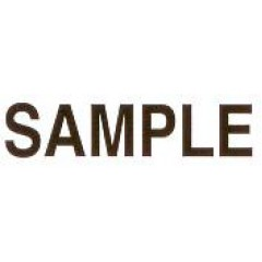 AS77 - Large Sample Stamp
