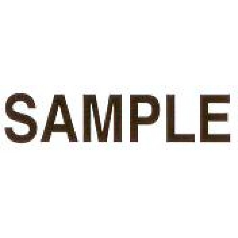 AS77 - Large Sample Stamp - School Office & Business Office Stamps