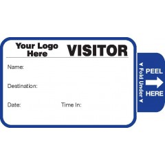 804 - Expiring Visitor Label Badges Book