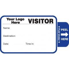 804 - Expiring Visitor Label Badges Book