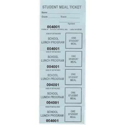 26A, 26B, 26C, 26X  - Lunch Strip Tickets - Strip Tickets