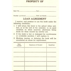 1C - Loan Agreement Book Labels