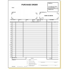 33E3 - Three-Part Purchase Order