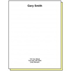68G2 - Two-Part Personalized Note Pad w/Name & Address