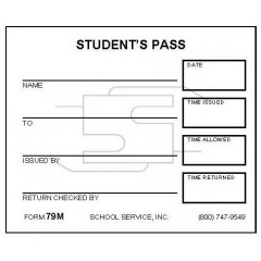79M - Small Student's Pass